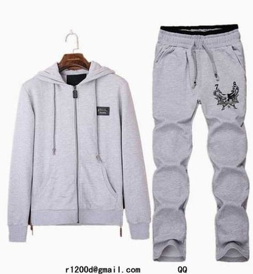 Survetement philipp plein a capuche jogging homme slim pas cher survetement philipp plein soldes fr - Survetement a la mode ...